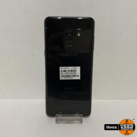 Samsung Galaxy A8 2018 32GB Black Los Toestel incl. Lader