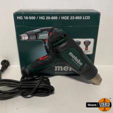 Metabo Metabo HGE 23-650 LCD  230V/2100W Heteluchtpistool Nieuw in Doos