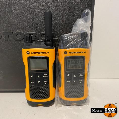 Motorola T80/T80 Extreme Portofoon Nieuw in Koffer