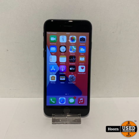 iPhone 8 64GB Space Gray Los toestel incl. Lader Accu:100%