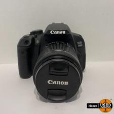 Canon EOS 700D Spiegelreflex Camera incl. Canon 18-55mm Lens, 1 Accu en Lader