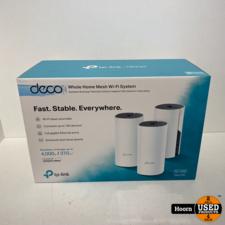 TP-Link Deco M4 Multiroom WiFi Systeem 3 Pack Nieuw in Doos