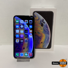 iphone XS iPhone XS 64GB Silver in Doos incl Lader Accu: 83%