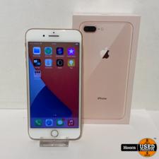 Apple iPhone iPhone 8 Plus 64GB Gold in Doos incl. Lader Accu: 87%