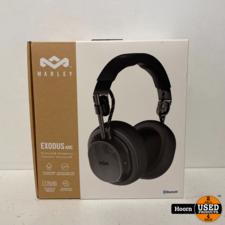 House of Marley Exodus ANC Over-ear Draadloze Bluetooth Koptelefoon Zwart Nieuw in Doos