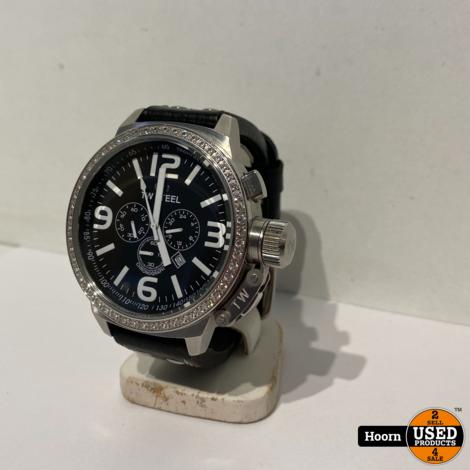 TW Steel Canteen TW9 Heren Horloge Zirconia Diamond Bezel 50mm