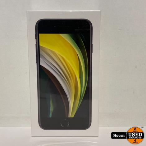 iPhone SE 2020 128GB Zwart Nieuw in Seal