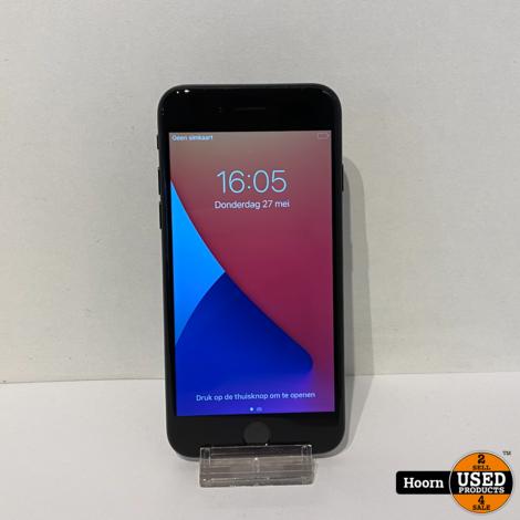 iPhone 7 128GB Zwart incl. Lader Accu: 96%