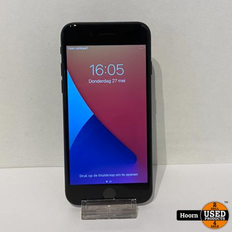 iPhone 7 128GB Zwart incl. Lader Accu: 84%