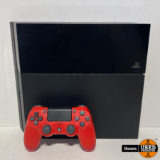 Playstation 4 Playstation 4 Phat 500GB Zwart Compleet met Controller