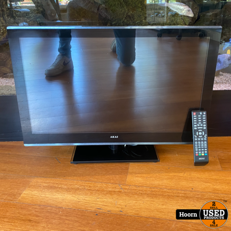 Akai ALED 2604T 26 inch HD-Ready LCD TV met ingebouwde DVD-Speler en AB
