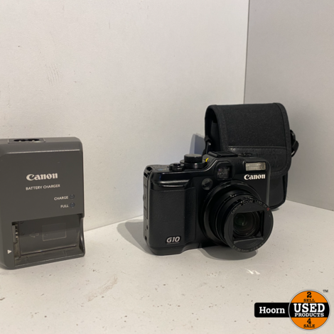 Canon PowerShot G10 14.7MP Compact Camera incl. Lader