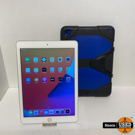 Apple iPad Air 2 32GB WiFi Silver incl. Lader en Hoes