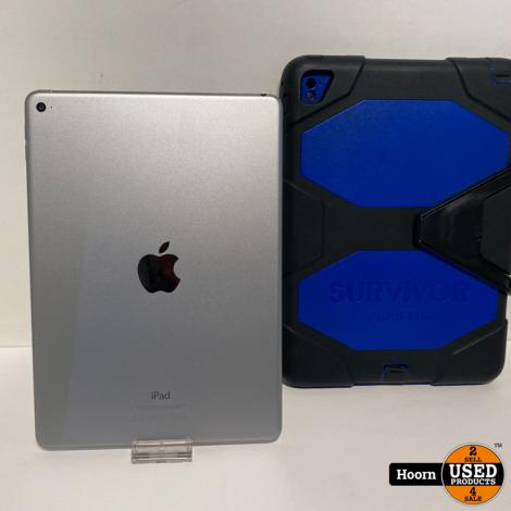Apple iPad Air 2 32GB WiFi Space Grey incl. Lader en Hoes