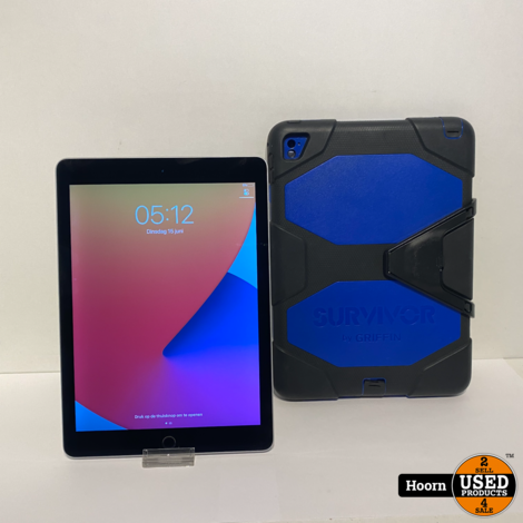 Apple iPad Air 2 32GB WiFi Space Gray incl. Lader en Hoes