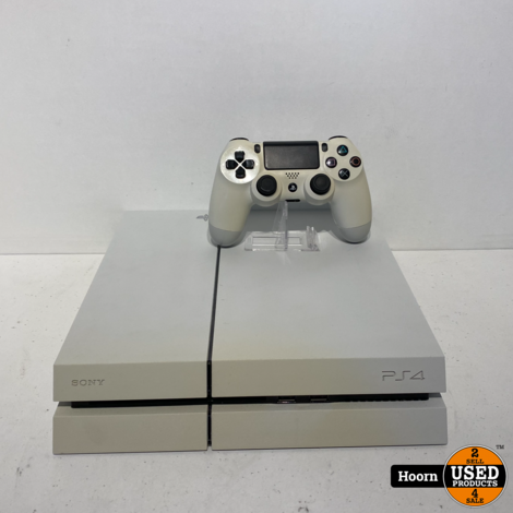 Playstation 4 Phat 1TB Wit Compleet incl. Controller en kabels