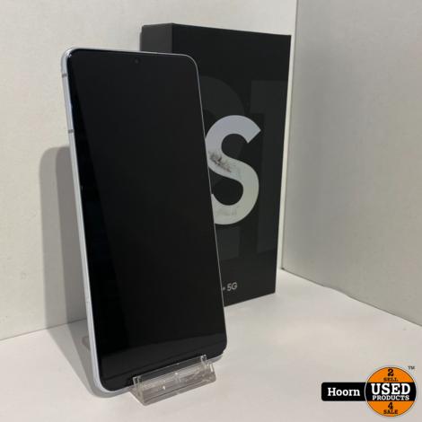 Samsung Galaxy S21 Plus 5G 128GB Phantom Silver ZGAN Compleet in Doos