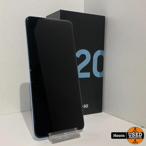 Samsung Galaxy S20+ Plus 5G 128GB Cloud Blue in Doos Met Bon