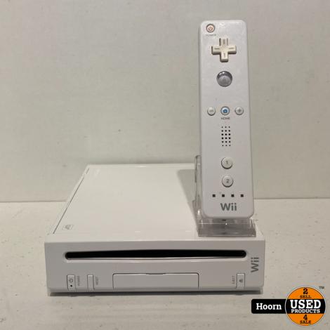 Nintendo Wii Wit Compleet met Controller