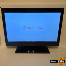 Q Media 21.5 inch Full-HD LED TV met ingebouwde DVD Speler en AB
