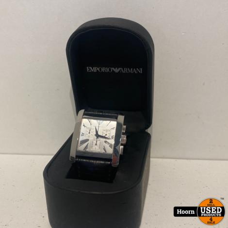 Armani EMPORIO ARMANI AR-0186 Heren Horloge in Doos