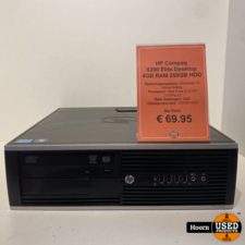 HP HP Compaq 8200 Elite Desktop Windows 10 Home 4GB RAM 250GB HDD