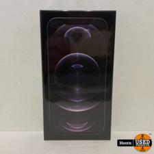 Apple iPhone iPhone 12 Pro Max 128GB Graphite 5G Nieuw in Seal Met Bon