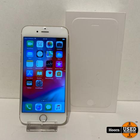 iPhone 6 64GB Gold in Doos incl. Lader Accu: 90%