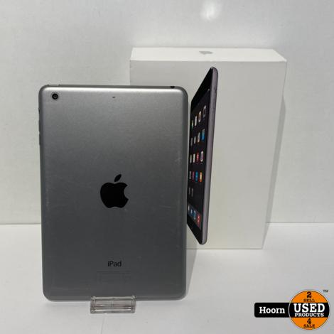 iPad Mini 2 16GB Wifi Space Gray in Doos incl. Lader