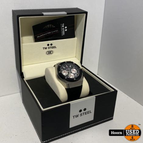 TW Steel CE4019 David Coulthard Special Edition Horloge 44mm Compleet in Doos