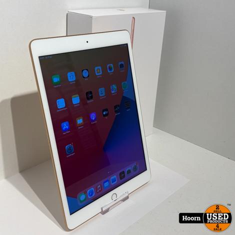 iPad 2019 7e Generatie 32GB Wifi Gold in Zeer Nette Staat Compleet in Doos met Hoes