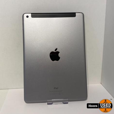 iPad 2017 5e Generatie 32GB Wifi + 4G Space Gray incl. Lader in Zeer Nette Staat