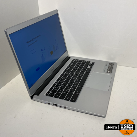 ACER Chromebook 514 (CB514-1H-C8PA) 14 inch Laptop incl. Lader