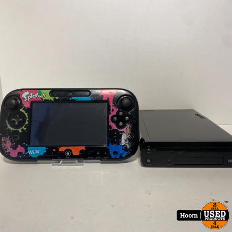 Nintendo Wii U 32GB Zwart Compleet incl. Hoes