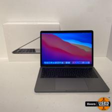 Apple Macbook MacBook Pro 13-inch 2017 Touchbar   3.1Ghz i5   8GB RAM   512GB SSD Compleet in Doos in Zeer Nette Staat
