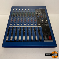 Yamaha MG12/4 FX Mixing Console Mengpaneel incl. Adapter