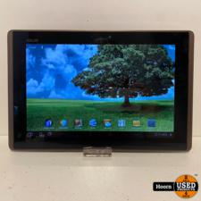 Asus Eee Pad Transformer TF101 16GB Tablet in Hoes (Zonder Toetsenbord)