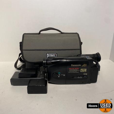 Panasonic VHS-C Movie Camera NV-A1 Compleet incl. Tas