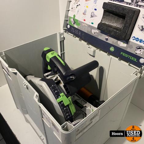 Festool TS 55 REBQ-Plus invalcirkelzaag in Systainer in Zeer Nette Staat