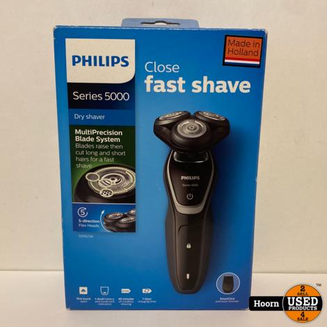 Philips Shaver 5000 Series S5110/06 Scheerapparaat Nieuw in Doos