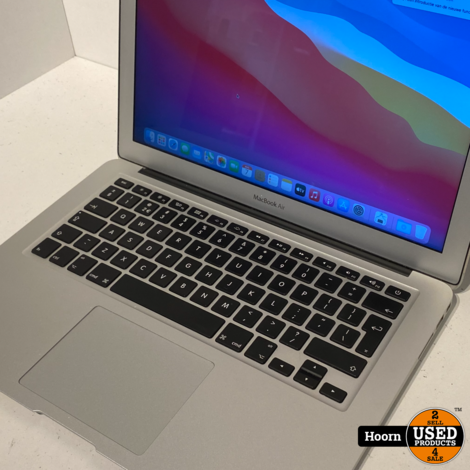 Macbook Air 2017 13'' inch | 8GB RAM |128GB SSD | 1.8GHz Dual Core i5 Compleet in Doos incl. Lader