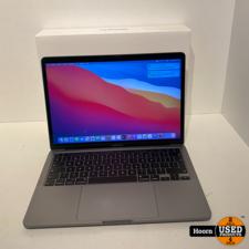 MacBook Pro 13 inch 2020 Touchbar Space Gray ZGAN Compleet in Doos | 1,4Ghz i5 | 8GB RAM | 256GB SSD