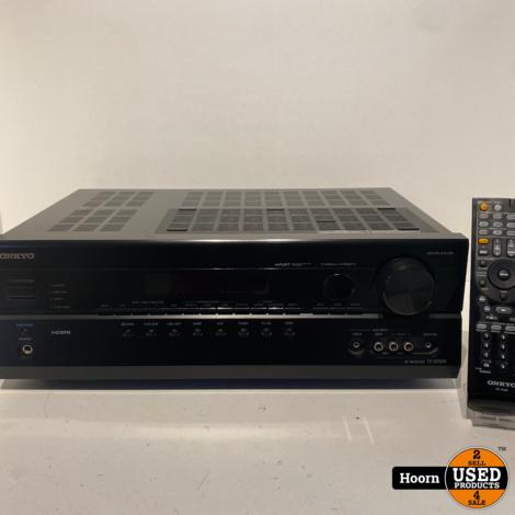 Onkyo TX-SR508 7.1 Receiver/Versterker incl. Afstandsbediening