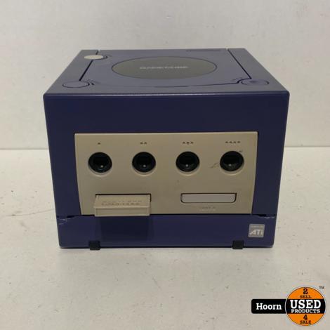 Nintendo GameCube Paars Compleet met Controller