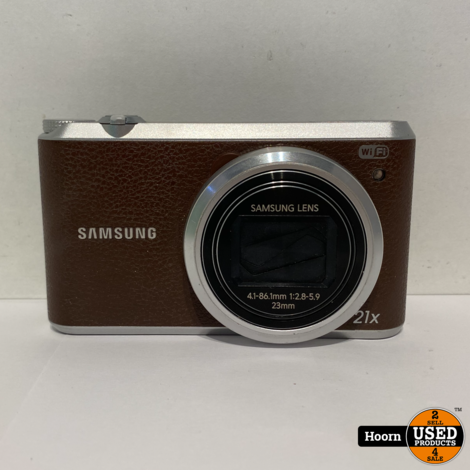 Samsung WB350F Compact Camera WiFi 16.3MP 21X Zoom