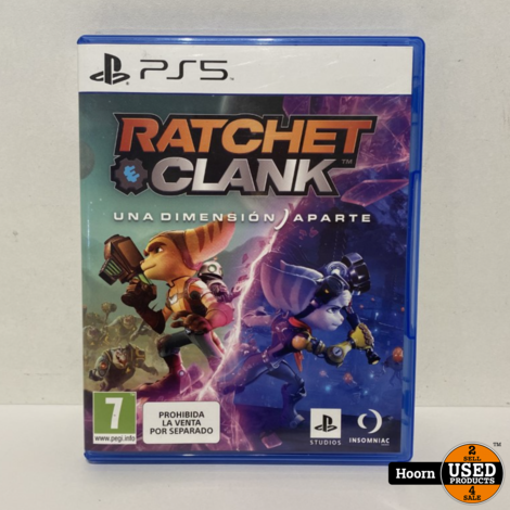 Playstation 5 Game: Ratchet & Clank Rift Apart