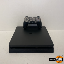 Playstation 4 Slim 500GB Zwart Compleet met Controller en Kabels