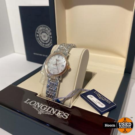 Longines The Longines Elegant Collection L4.309.5.87.7 25.5mm Automatisch Horloge Compleet Nieuw in Doos