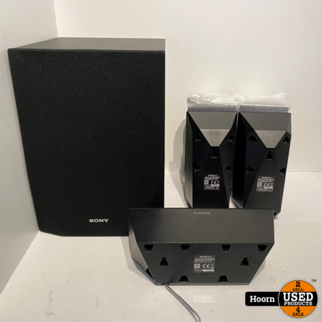 Sony 5.1 Speaker Set SS-WSB122 Subwoofer, 1 SS-CTB121, 4 SS-TSB121 In Nette Staat