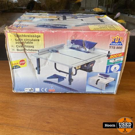 Topcraft TTS 800 Zaagtafel 800W ZGAN in Doos